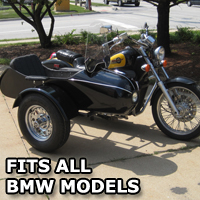 Classical RocketTeer Side Car Motorcycle Sidecar Kit - BMW Models