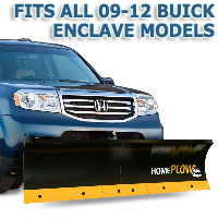 Fits All Buick Enclave 09-12 Models - Meyer Home Plow Basic Manual Lift Snowplow
