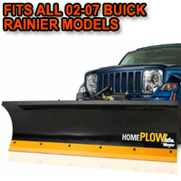 Fits All Buick Rainier 02-07 Models - Meyer Home Plow Hydraulically-Powered Lift w/Both Wireless & Wired Controllers - Auto-Angle Snow Plow