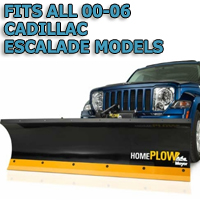 Fits All Cadillac Escalade 00-06 Models - Meyer Home Plow Hydraulically-Powered Lift w/Both Wireless & Wired Controllers - Auto-Angle Snow Plow
