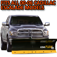 Fits All Cadillac Escalade 00-06 Models - Meyer Home Plow Basic Electric Lift Snowplow