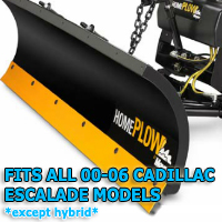 Fits All Cadillac Escalade 07-14 Models (Except Hybrid) - Meyer Home Plow Snow Plow - Hydraulic - Power Angling