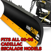 Fits All Cadillac Escalade 00-06 Models - Meyer Home Plow Snow Plow - Hydraulic - Power Angling