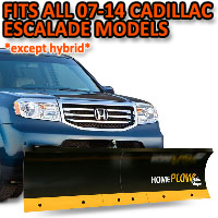 Fits All Cadillac Escalade 07-14 Models (Except Hybrid) - Meyer Home Plow Basic Manual Lift Snowplow