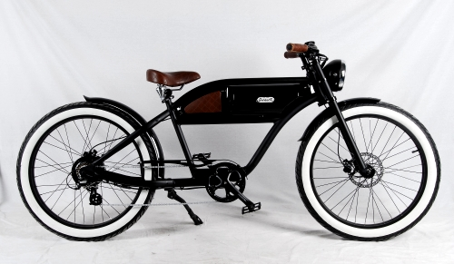 350 Watt Cafe Cruiser Racer Electric Bicycle With Lithium Battery