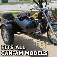 Standard RocketTeer Side Car Motorcycle Sidecar Kit - All Brands