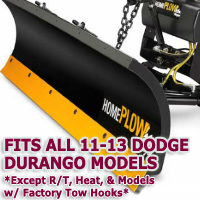 Fits All Dodge Durango 98-09 Models - Meyer Home Plow Snow Plow - Hydraulic - Power Angling