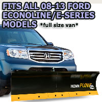 Fits All Ford Econoline/E-Series Models - Meyer Home Plow Basic Manual Lift Snowplow