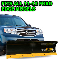 Fits All Ford Edge 11-12 Models - Meyer Home Plow Basic Manual Lift Snowplow