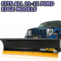 Fits All Ford Edge 11-12 Models - Meyer Home Plow Hydraulically-Powered Lift w/Both Wireless & Wired Controllers - Auto-Angle Snow Plow