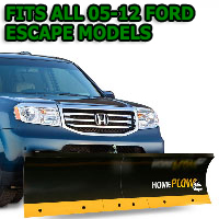 Fits All Ford Escape 05-12 Models - Meyer Home Plow Basic Manual Lift Snowplow