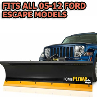 Fits All Ford Escape 05-12 Models - Meyer Home Plow Hydraulically-Powered Lift w/Both Wireless & Wired Controllers - Auto-Angle Snow Plow