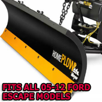 Fits All Ford Escape 05-12 Models - Meyer Home Plow Snow Plow - Hydraulic - Power Angling
