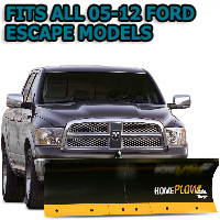 Fits All Ford Escape 05-12 Models - Meyer Home Plow Basic Electric Lift Snowplow