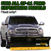 Fits All Ford Expedition 07-11(4wd only) Models - Meyer Home Plow Basic Electric Lift Snowplow