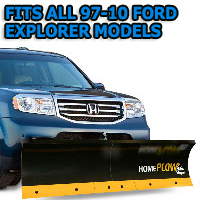 Fits All Ford Explorer 97-10 Models - Meyer Home Plow Basic Manual Lift Snowplow