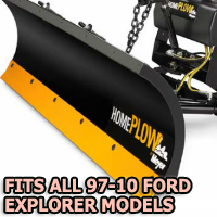 Fits All Ford Expplorer 97-10 Models - Meyer Home Plow Snow Plow - Hydraulic - Power Angling