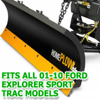 Fits All Ford Explorer Sport Trac 01-10 Models - Meyer Home Plow Snow Plow - Hydraulic - Power Angling