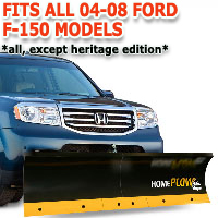 Fits All Ford F150 04-08 Models - Meyer Home Plow Basic Manual Lift Snowplow
