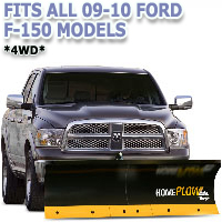 Fits All Ford F150 09-10 4wd Models - Meyer Home Plow Basic Electric Lift Snowplow