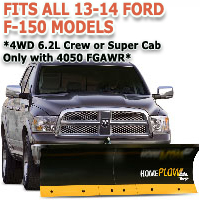Fits All Ford F150 13-14 Models - Meyer Home Plow Basic Electric Lift Snowplow - 4wd 6.2L Crew or Super Cab Only w/4050 FGAWR