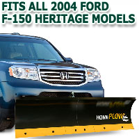 Fits All Ford F150 Heritage 2004 Models - Meyer Home Plow Basic Manual Lift Snowplow