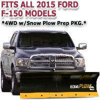 Fits All Ford F150 2015 Models - Meyer Home Plow Basic Electric Lift Snowplow