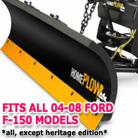 Fits All Ford F150 04-08 Models - Meyer Home Plow Snow Plow - Hydraulic - Power Angling