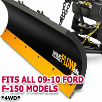 Fits All Ford F150 09-10 Models - Meyer Home Plow Snow Plow - Hydraulic - Power Angling