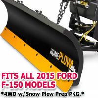 Fits All Ford F150 2015 Models - Meyer Home Plow Snow Plow - Hydraulic - Power Angling