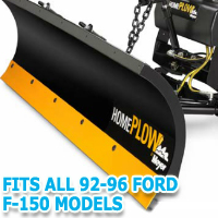 Fits All Ford F150 92-96 Models - Meyer Home Plow Snow Plow - Hydraulic - Power Angling