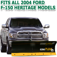 Fits All Ford F150 Heritage 2004 Models - Meyer Home Plow Basic Electric Lift Snowplow