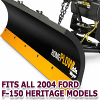 Fits All Ford F150 Heritage 2004 Models - Meyer Home Plow Snow Plow - Hydraulic - Power Angling
