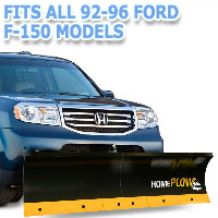Fits All Ford F150 92-96 Models - Meyer Home Plow Basic Manual Lift Snowplow