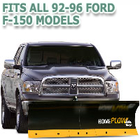 Fits All Ford F150 92-96 Models - Meyer Home Plow Basic Electric Lift Snowplow