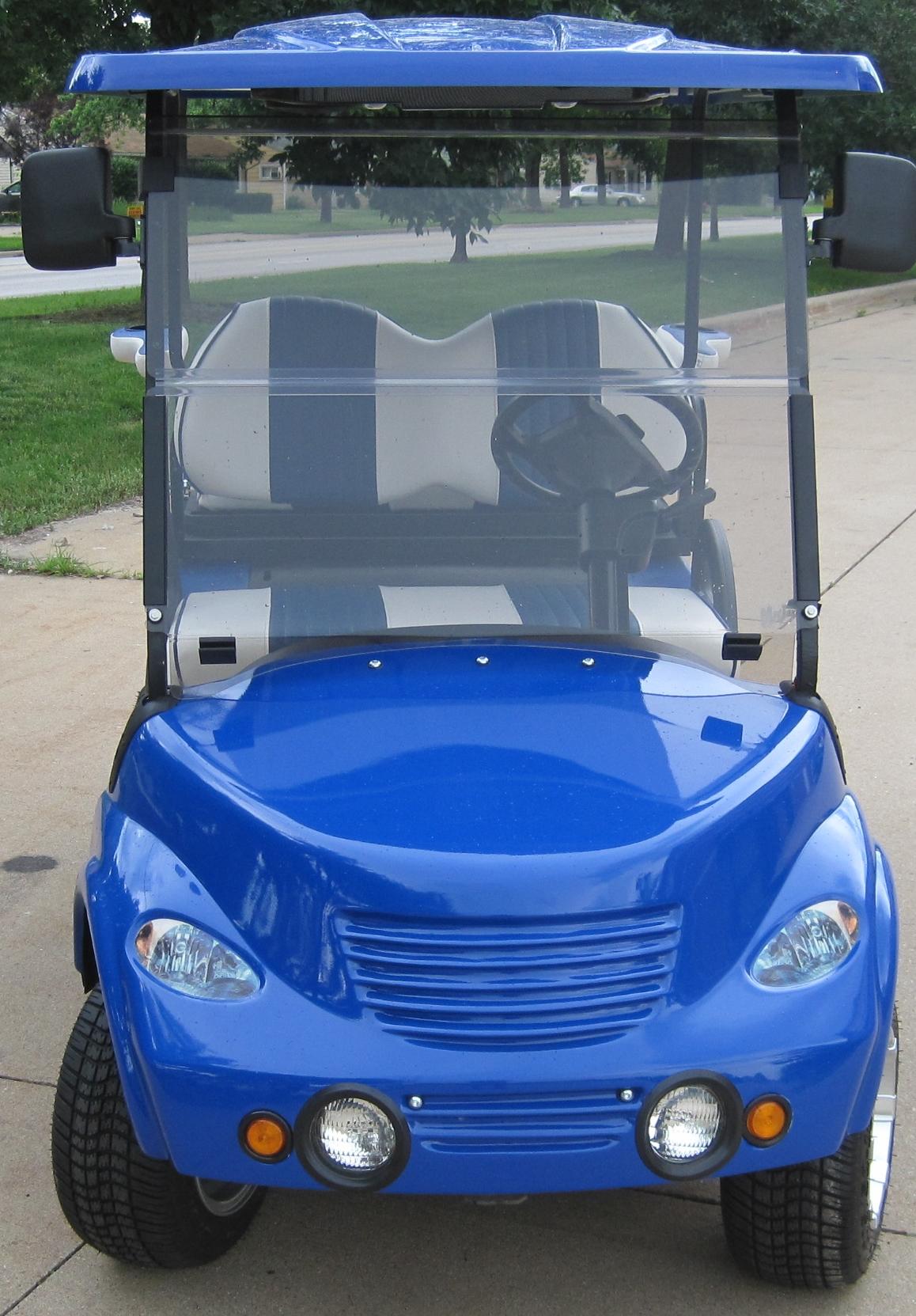 pt cruiser custom ezgo golf cart. Black Bedroom Furniture Sets. Home Design Ideas