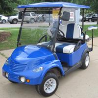 PT Cruiser Custom EzGo Golf Cart