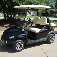 PT Cruiser Custom Club Car Golf Cart