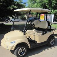 Carmel Beige PT Cruiser Custom Club Car Golf Cart
