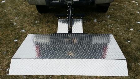 Liftgate Lift Hitch Heavy Duty Vehicle Gate 1200 Lb Capacity
