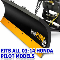 Fits All Honda Pilot 03-14 Models - Meyer Home Plow Snow Plow - Hydraulic - Power Angling