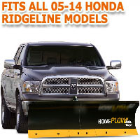 Fits All Honda Ridgeline 05-14 Models - Meyer Home Plow Basic Electric Lift Snowplow