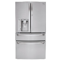 LG LMXS30776S Refrigerator 29.7 cu. ft. 4-Door French Door - New w/Tiny Cosmetic Blemish