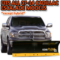 Fits All Cadillac Escalade 07-14 Models (Except Hybrid) - Meyer Home Plow Basic Electric Lift Snowplow