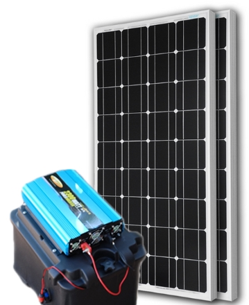 solar powered generator 135 amp 7000 watt solar generator just plug and play not a kit. Black Bedroom Furniture Sets. Home Design Ideas