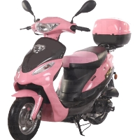 50cc Pink Panther Maui Moped, Only 6 Left!!