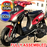 Amigo 150cc 4 Stroke Gas Moped Scooter - POLO 150cc