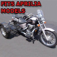 Outlaw Series Scooter Trike Kit - Fits All Aprilia Models