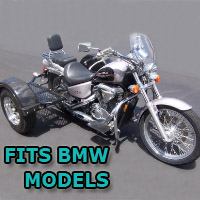 Outlaw Series Scooter Trike Kit - Fits All BMW Models