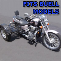 Outlaw Series Scooter Trike Kit - Fits All Buell Models